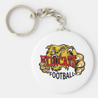 WILDCATS FOOTBALL KEYCHAINS