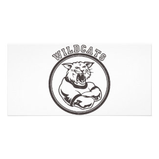 Wildcats Mascot Card