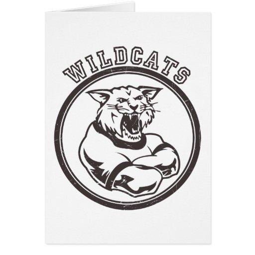Wildcats Mascot Cards