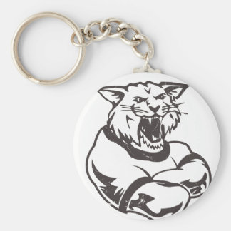 Wildcats Mascot Keychain