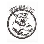 Wildcats Mascot Postcards