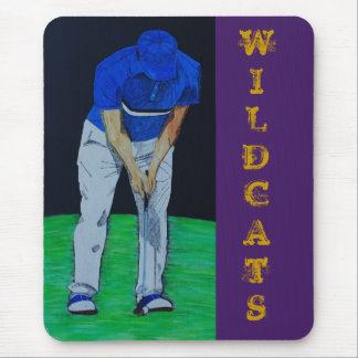 Wildcats Putter Mouse Pad