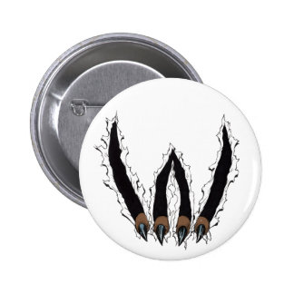 Wildcats Sports Team Claw Ripping Through - Al Rio Buttons