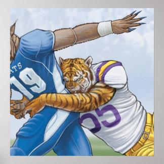 Wildcats vs Tigers Poster