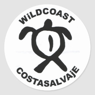WiLDCOAST COSTASALVAjE Classic Round Sticker