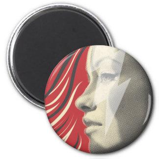 Wilde Style 2 Inch Round Magnet