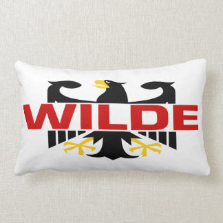 Wilde Surname Pillow