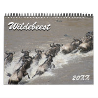 wildebeest calendar