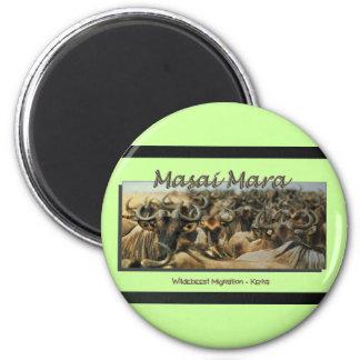 Wildebeest / Gnu migration, safari magnets