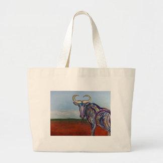Wildebeest Jumbo Tote Bag
