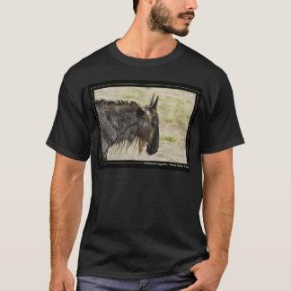 Wildebeest migration Kenya wildlife men's t-shirts