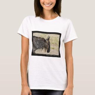Wildebeest migration Kenya wildlife t-shirts