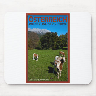 Wilder Kaiser - Cows Mouse Pad