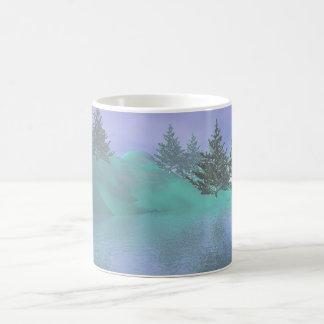 Wilderness 3D image Coffee Mug