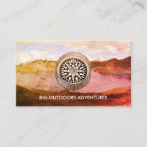 Wilderness Adventure Trip Guide Business Card
