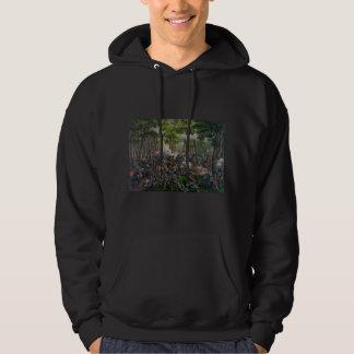 Wilderness Battle Hooded Sweatshirts