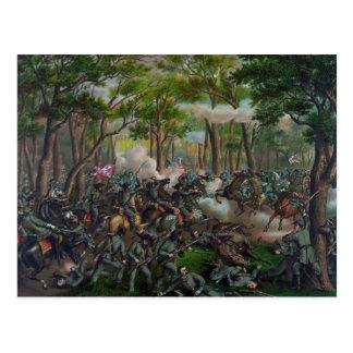 Wilderness Battle Postcard