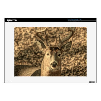 wilderness Camouflage outdoorsman whitetail deer Skin For Laptop