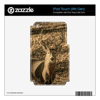 wilderness Camouflage outdoorsman whitetail deer Skins For iPod Touch 4G