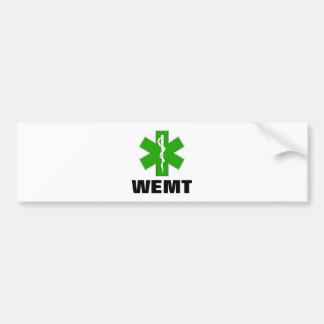Wilderness EMT Car Bumper Sticker