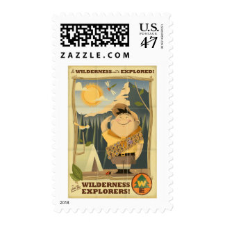 Wilderness Explorers with Russell - Disney Pixar Postage