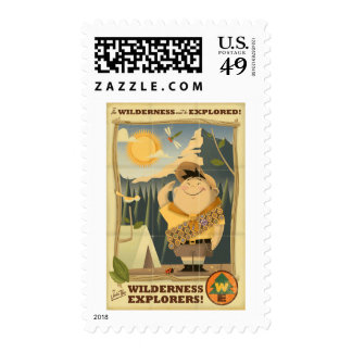 Wilderness Explorers with Russell - Disney Pixar Stamp