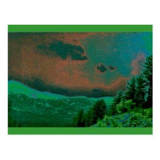 wilderness landscape postcard