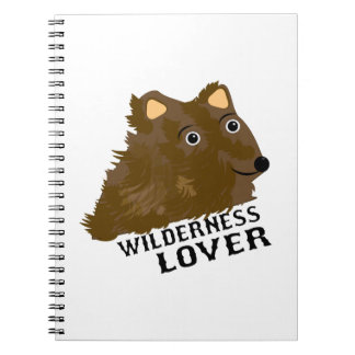 Wilderness Lover Spiral Notebook