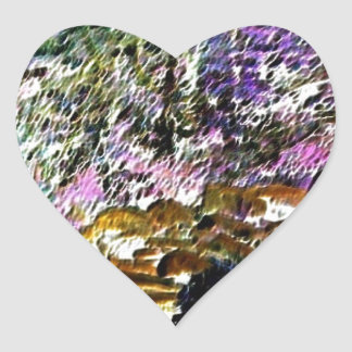 Wilderness Mirage Heart Sticker