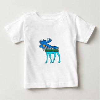 Wilderness Moose Baby T-Shirt