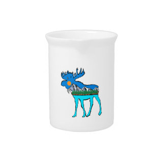 Wilderness Moose Beverage Pitcher