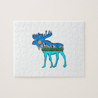 Wilderness Moose Jigsaw Puzzle