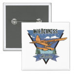 Wilderness Seaplane Adventure Alaska Pinback Button