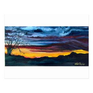 Wilderness Sundown Postcard