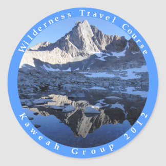 Wilderness Travel Course Kaweah Group 2012 Sticker