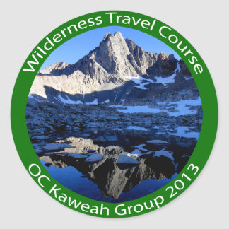 Wilderness Travel Course Kaweah Group 2013 Sticker