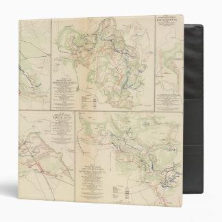 Wilderness, Va Spotsylvania CH Todd's Tavern Vinyl Binder