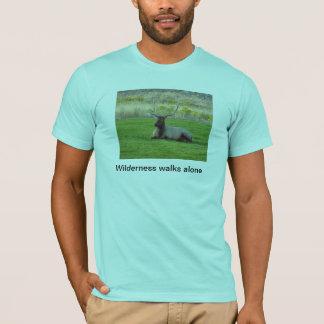 Wilderness walks alone T-Shirt
