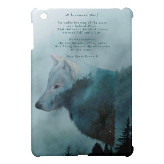 Wilderness Wolf & Eco Poem Cover For The iPad Mini