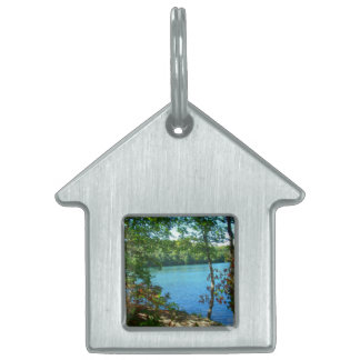 Wilderness Wooded Lake Pet Tag