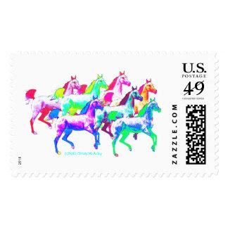 Wildest Horses! Postage Stamp
