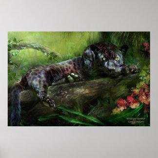 WildEyes-Panther Art Poster/Print Poster