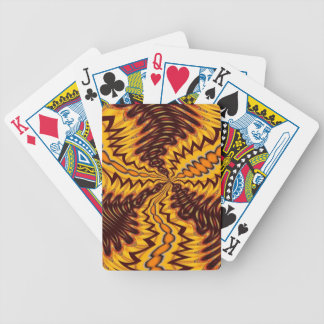 Wildfire Abstract Color Playing Cards