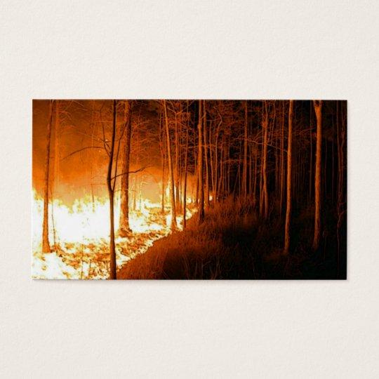 Wildfire Blaze Business Card
