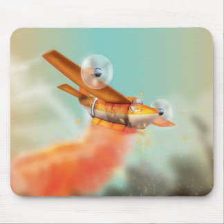 Wildfire fire-plane Aerial firefighting Mouse Pad
