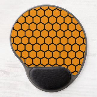Wildfire Hexagon 4 Gel Mouse Pad