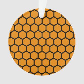 Wildfire Hexagon 4 Ornament