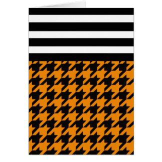 Wildfire Houndstooth w/ Stripes 2 Card