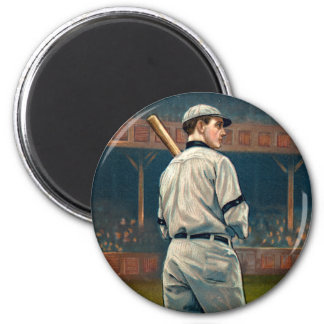 Wildfire Schulte, Chicago Cubs, 1911 2 Inch Round Magnet