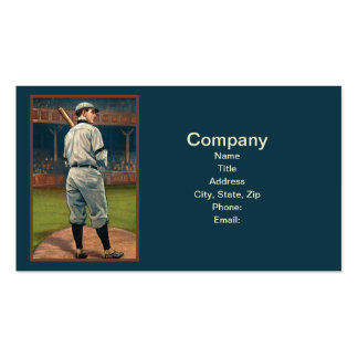 Wildfire Schulte, Chicago Cubs, 1911 Business Card